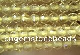 CTG1021 15.5 inches 2mm faceted round tiny citrine beads