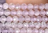 CTG1023 15.5 inches 2mm faceted round tiny lavender amethyst beads