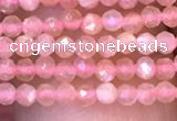 CTG1030 15.5 inches 2mm faceted round tiny moonstone beads
