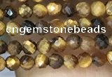 CTG1064 15.5 inches 2mm faceted round tiny yellow tiger eye beads