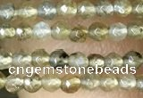 CTG1077 15.5 inches 2mm faceted round tiny labradorite beads