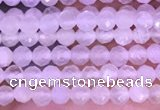 CTG1351 15.5 inches 2mm faceted round white moonstone beads