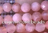 CTG1548 15.5 inches 4mm faceted round moonstone gemstone beads
