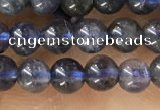 CTG1591 15.5 inches 4mm round iolite gemstone beads wholesale