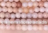 CTG2000 15 inches 2mm,3mm round pink aventurine jade beads