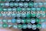 CTG2059 15 inches 2mm,3mm green agate gemstone beads