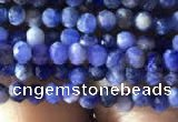 CTG778 15.5 inches 2mm faceted round tiny sodalite beads wholesale