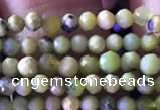 CTG825 15.5 inches 3mm faceted round tiny chrysotine beads