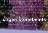 CTO302 15.5 inches 2*3mm faceted rondelle tourmaline beads
