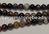 CTO400 15.5 inches 6mm round natural tourmaline gemstone beads
