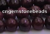 CTO502 15.5 inches 6mm - 6.5mm round natural red tourmaline beads
