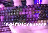 CTO667 15.5 inches 6mm round natural tourmaline gemstone beads