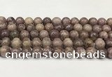CTO722 15.5 inches 10mm round Chinese tourmaline beads