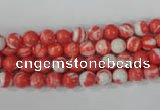 CTU1000 15.5 inches 4mm round synthetic turquoise beads wholesale