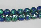 CTU1813 15.5 inches 8mm round synthetic turquoise beads