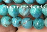 CTU3011 15.5 inches 6mm round South African turquoise beads