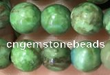 CTU3031 15.5 inches 6mm round South African turquoise beads