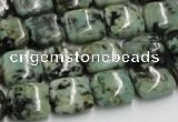 CTU411 15.5 inches 12*12mm square African turquoise beads wholesale