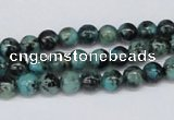 CTU426 15.5 inches 6mm round African turquoise beads wholesale
