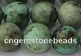 CTU578 15.5 inches 10mm round african turquoise beads wholesale