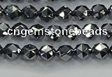 CTZ630 15.5 inches 4mm faceted nuggets terahertz beads wholesale
