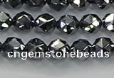 CTZ631 15.5 inches 6mm faceted nuggets terahertz beads wholesale