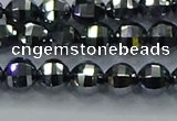 CTZ641 15.5 inches 6mm faceted round terahertz beads wholesale