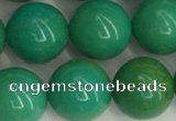 CWB872 15.5 inches 10mm round howlite turquoise beads wholesale