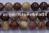 CWJ430 15.5 inches 4mm round wood jasper beads wholesale