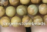 CWJ511 15.5 inches 6mm round wooden jasper beads wholesale