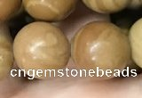 CWJ515 15.5 inches 14mm round wooden jasper beads wholesale