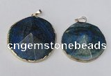 NGP1690 30*35mm - 35*40mm freeform agate gemstone pendants