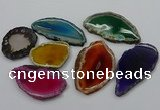 NGP4264 35*50mm - 45*80mm freefrom agate pendants wholesale