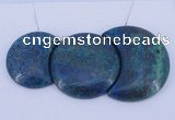 NGP66 Fashion chrysocolla gemstone pendants set jewelry wholesale