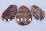 NGP943 5PCS 35-50mm*55-70mm freeform jasper gemstone pendants